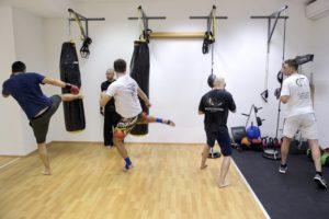 kickboxing skupinska vadba